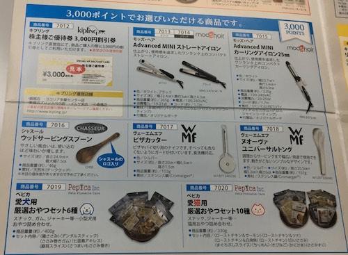 三栄コーポレーション2017年3月期株主優待2