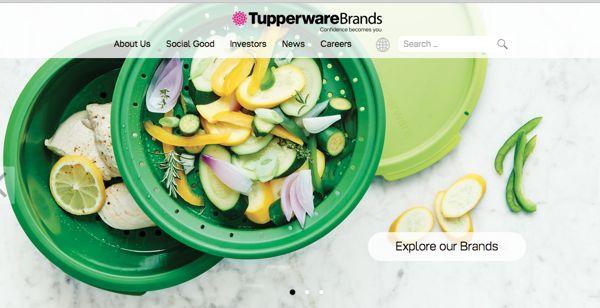 TUPタッパーウェア・ブランズトップページ画像