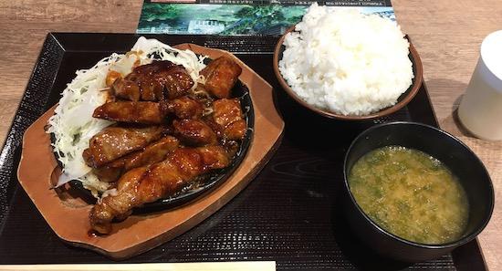 豚屋とん一 トンテキ定食