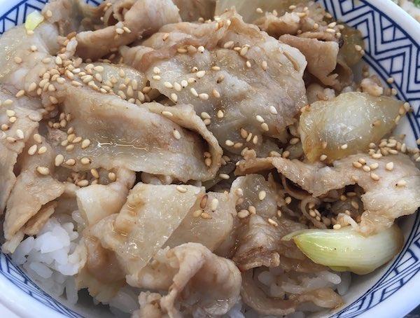 9861吉野家新味豚丼