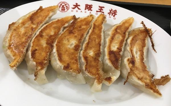 2882大阪王将の餃子