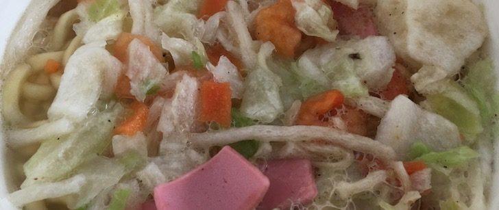 8200長崎ちゃんぽんのカップ麺