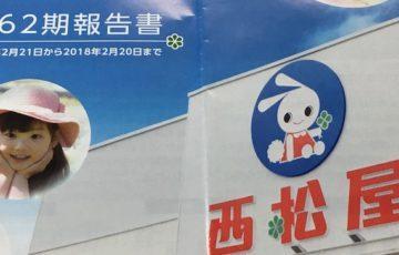 7545西松屋チェーン配当金受領日記