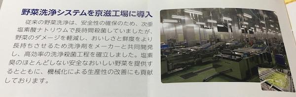 2903シノブフーズ最新の野菜洗浄システムを導入