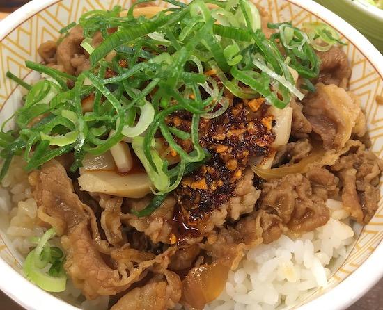 7550ゼンショーHDすき家食べラーメンマ牛丼