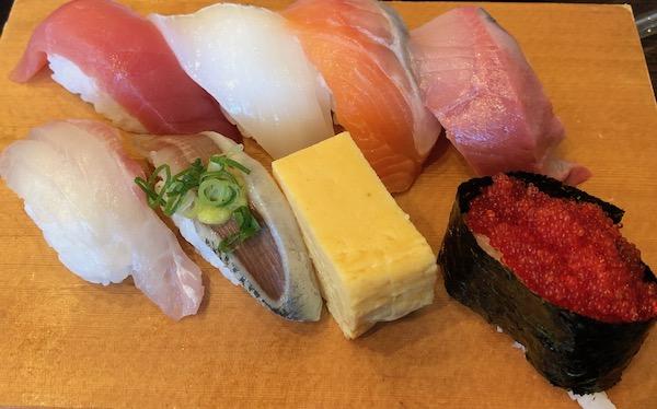 3395函館市場波セットお寿司
