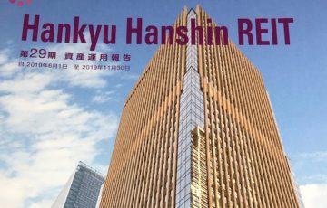 8977阪急阪神リート投資法人2019年11月期分配金